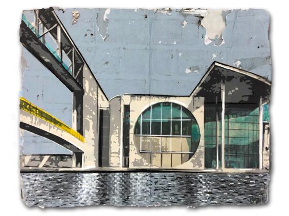 Der Bananensprayer Thomas Baumgartel Markiert Galerien Und Kunstorte